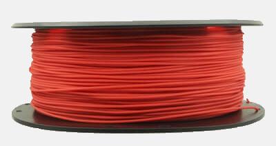 3D Printing Tpe Plus filament red