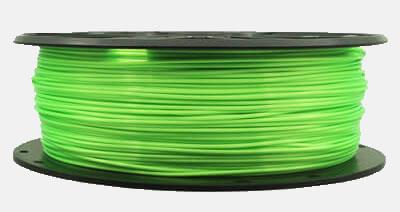 Silk PLA Filament Green 1kg